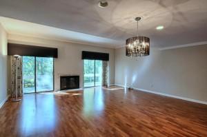new flooring in the condo